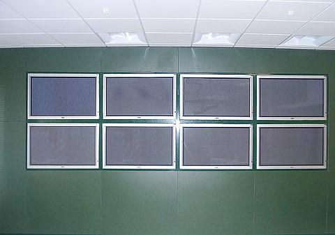 Фото Плазменные панели, встроенные в систему NAYADA-Тempo.