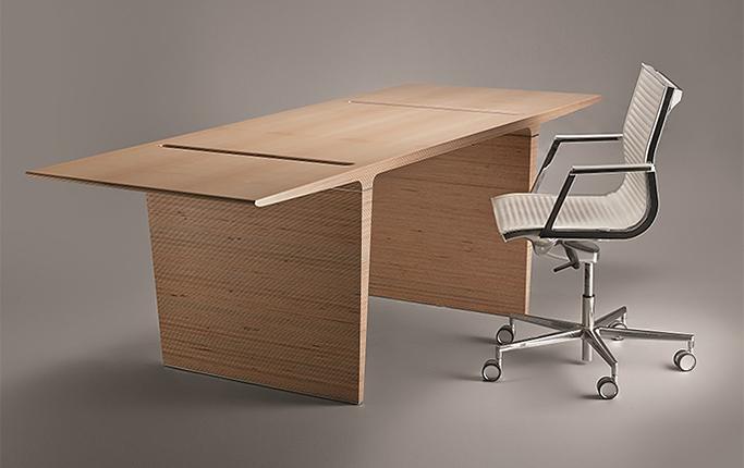 Новая версия кабинета для руководителя PROFILE Plywood, автор В. Кузьмин