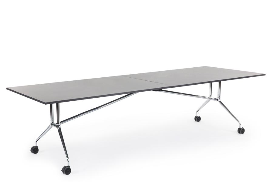 Фото Гибкая работа и простота использования: складной стол GLOSS