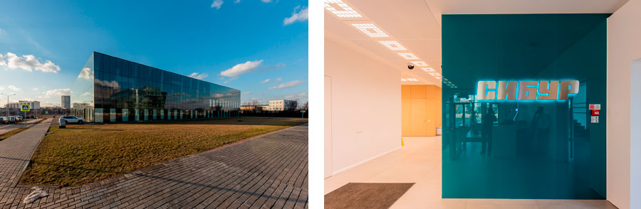 Photo NAYADA for the SIBUR Research Center at Skolkovo