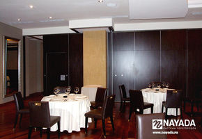 NAYADA SmartWall H5/H7 в проекте Клуб Grand Havana Room