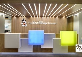 Стойки reception в проекте The Walt Disney Company CIS